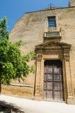 教会在Castelvetrano,西西里岛 免版税库存图片
