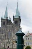 教会在Chrudim市 免版税图库摄影