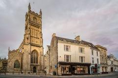 教会在Cirencester 免版税库存照片