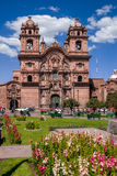 教会在Cusco 免版税库存照片