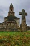 教会在Densus 免版税库存图片