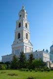 教会在Diveevo妇女的修道院里 免版税库存照片