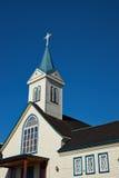 教会在Frutillar 免版税库存图片