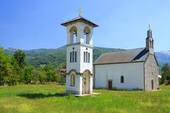 教会在Gusinje 免版税库存图片