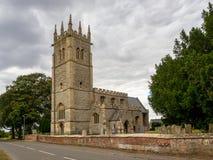 教会在Hawton在英国 库存图片