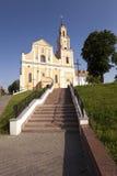 教会在Hrodna 免版税库存图片