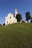 教会在Hrodna 免版税库存照片