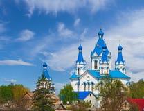 教会在Kamianets-Podilskyi 免版税图库摄影