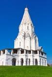 教会在Kolomenskoe 免版税图库摄影