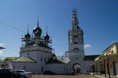 教会在Kostroma 免版税库存照片