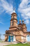 教会在Ladovskaya Balka放 免版税库存图片