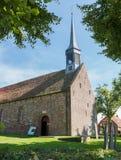 教会在Niehove 免版税库存照片