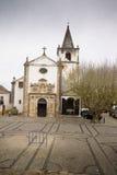 教会在Obidos葡萄牙 图库摄影
