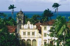 教会在olinda的圣fransisco 库存照片