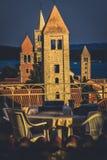教会在Rab 免版税库存图片