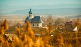 教会在Stanca 免版税库存照片