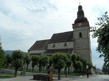 教会在Stitnik 图库摄影
