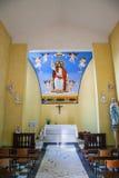 教会在Torre del Lago普奇尼 免版税库存图片