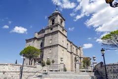 教会在Villacastin 库存照片