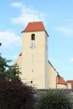 教会在Zumberk 免版税库存照片