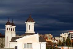 教会地区 库存照片