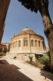 教会埃赛俄比亚的耶路撒冷 免版税图库摄影