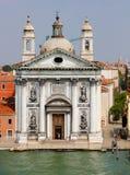 教会城市圣诞老人威尼斯 免版税图库摄影