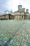 教会城市居民 免版税库存图片