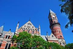 教会城市纽约 免版税库存图片