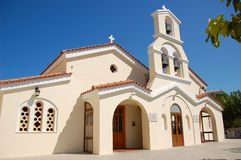 教会塞浦路斯东正教希腊 免版税库存图片