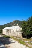 教会塞浦路斯塞浦路斯希腊小 库存图片