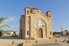 教会塞浦路斯peyia 库存图片