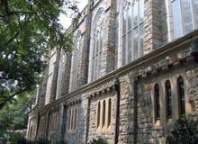 教会墙壁 库存图片
