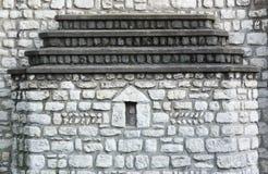 教会墙壁 免版税库存照片