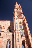 教会墨西哥zacatecas 免版税库存照片