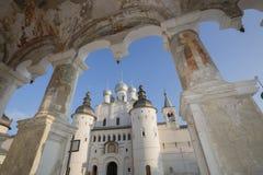 教会复活罗斯托夫伟大的俄罗斯 库存照片