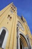 教会外部老 免版税库存图片