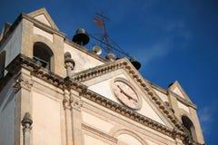 教会外部 免版税库存图片