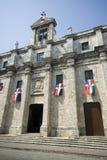 教会多明戈santo 库存图片
