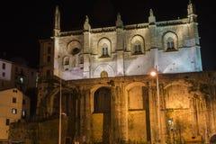 教会夜 图库摄影