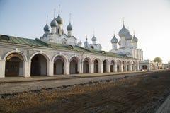 教会大教堂罗斯托夫伟大的俄罗斯 免版税图库摄影