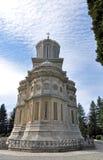 教会天空 库存图片