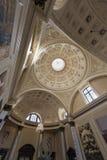 教会天花板伦敦英国 免版税库存图片