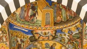 教会天花板 图库摄影