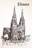 教会奉献的维也纳 皇族释放例证
