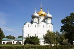 教会女修道院novodevichy的莫斯科 免版税库存照片