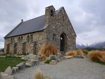 教会好牧羊人 免版税库存照片