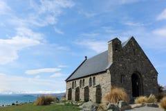 教会好牧羊人 库存图片