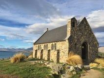 教会好牧羊人 图库摄影