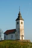 教会小山 库存图片